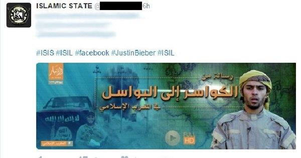 Estado Islâmico usa hashtag com o nome do cantor Justin Bieber ...