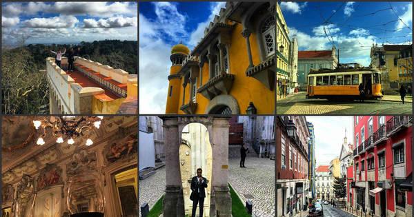 Veja os melhores momentos das férias de Geraldo Luís em Portugal ...