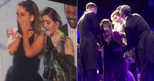 Depois de brincar com Katy Perry, Madonna dá palmadas no ...