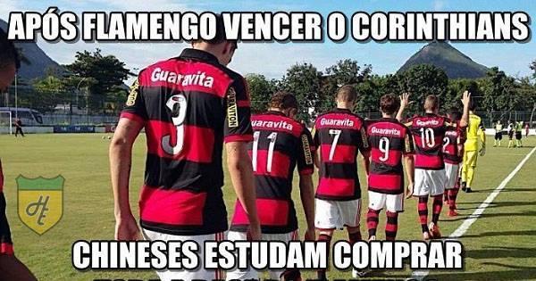 Final da Copinha entre Flamengo e Corinthians rende muitos memes