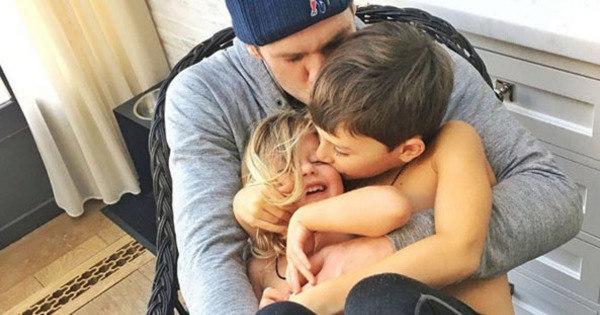 """Gisele Bündchen mostra momento fofo em família: """"Eu não aguento ..."""