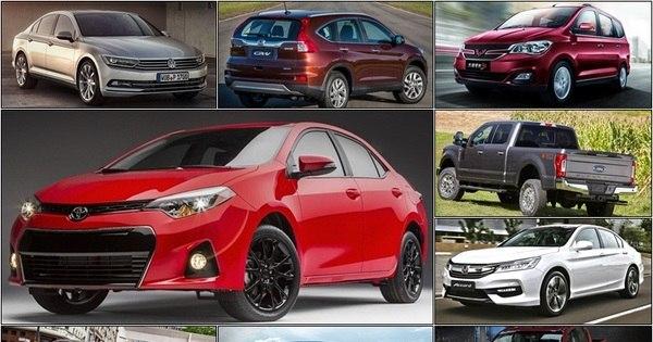 Veja quais foram os 20 carros mais vendidos do mundo em 2015 ...