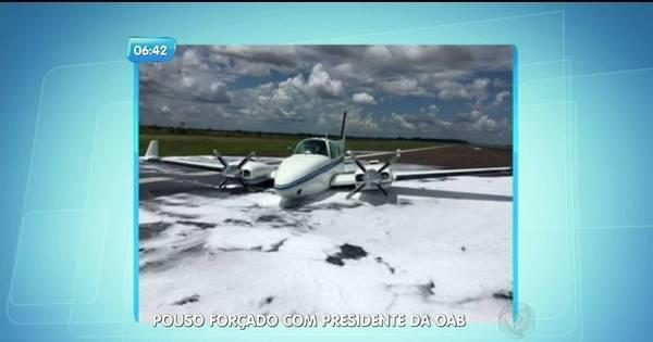 Avião com presidente da OAB faz pouso forçado - Fotos - R7 ...