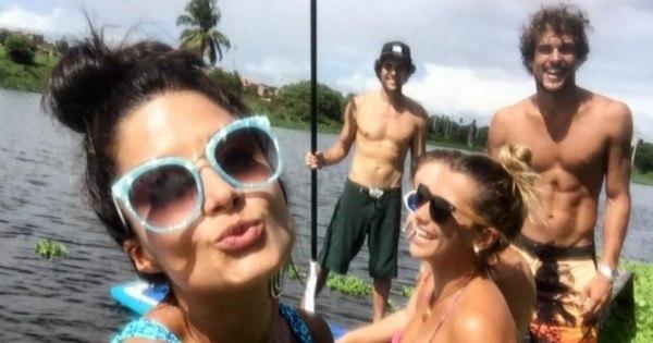 Aline Riscado fica com ator Felipe Roque em Fortaleza, diz jornal ...