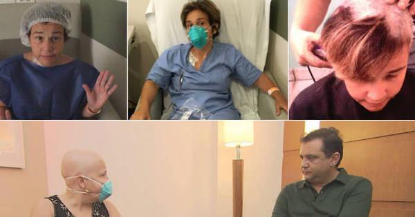 Atriz Cláudia Rodrigues se isola por quatro meses para tratamento ...