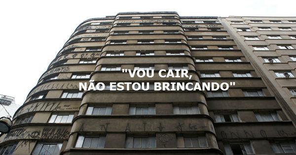 Isso é sério? Prédio ameaça cair em uma rua de São Paulo e ...