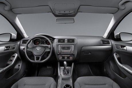 ... da versão de entrada Trendline 1.4 turbo automática Divulgação/VW