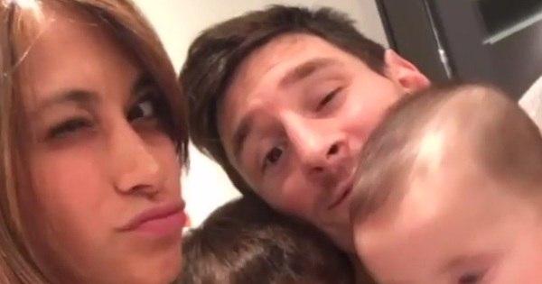 Mulher de Messi publica vídeo fofo da família e bomba na web ...