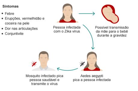Mais de 2.000 mulheres grávidas estão infectadas com zika na Colômbia