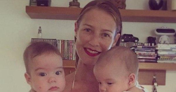 Luana Piovani publica foto dos gêmeos no Instagram ...
