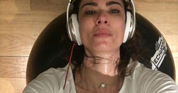 Que tanquinho! Luciana Gimenez exibe barriga sarada nas redes ...
