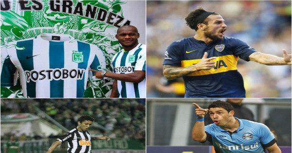 Confira os jogadores mais caros da Libertadores 2016