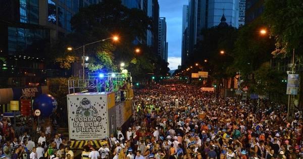 Sábado de Carnaval tem Cordão do Bola Preta e mais 90 blocos no ...