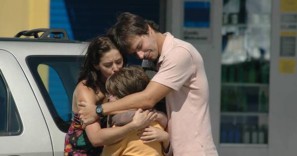 Ufa! Depois de muito nervoso, Dudu reencontra sua família! - Fotos ...