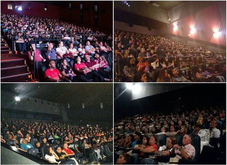Fotos: salas de cinema continuam lotadas em sessões por todo o País