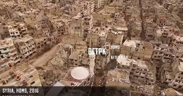 Cidade em ruínas: vídeo mostra destruição causada pela guerra ...