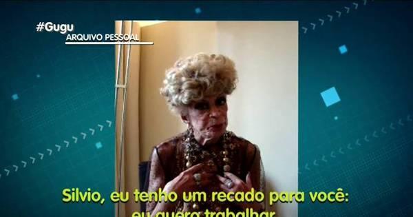 Dias antes de morrer, Dercy Gonçalves pediu a Silvio Santos para ...