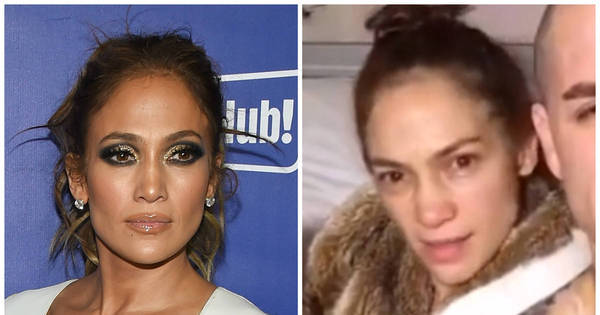 Em vídeo, Jennifer Lopez aparece irreconhecível sem maquiagem ...