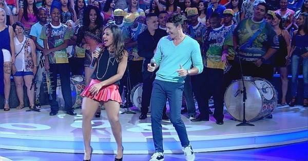 Rodrigo Faro recebe a banda Vingadora e aprende a dançar o hit ...
