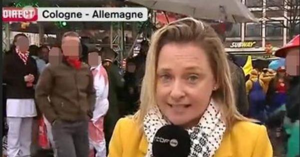 Jornalista é assediada sexualmente durante transmissão ao vivo ...
