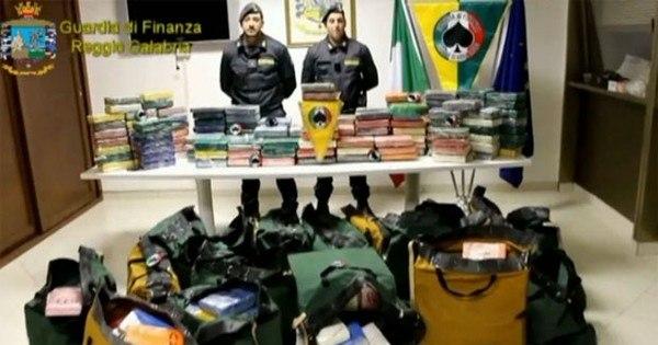 Mais de 500 kg de cocaína brasileira são apreendidos em contêiner ...