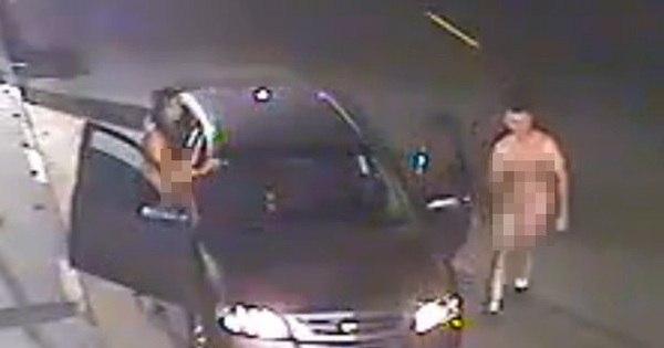 Casal sem-vergonha é filmado fazendo sexo fora do carro no meio ...