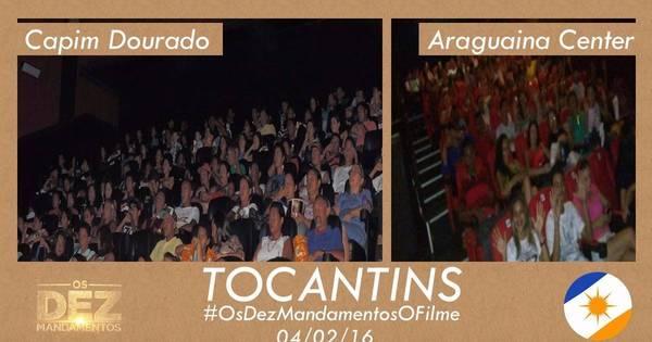 Fãs de Os Dez Mandamentos — O Filme lotam as salas de cinema ...