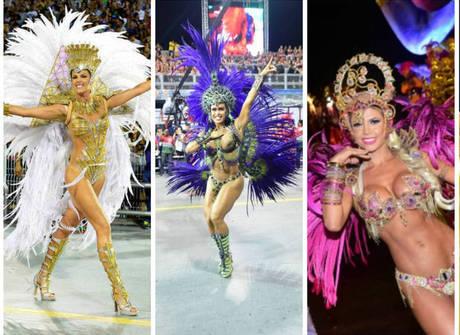 Só corpão! Famosas brilham na segunda noite de Carnaval. Veja!