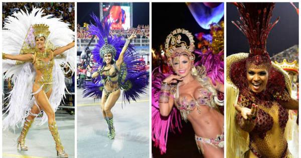 Só corpão! Famosas brilham na segunda noite de Carnaval; confira ...