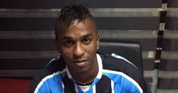 Grêmio anuncia a contratação do atacante equatoriano Miller Bolaños