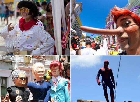 Veja como os foliões tomaram as ruas de Olinda durante o Carnaval