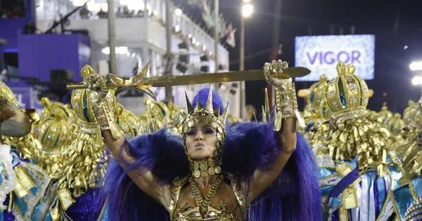 Canto forte da Unidos de Vila Isabel se destaca em desfile sobre ...