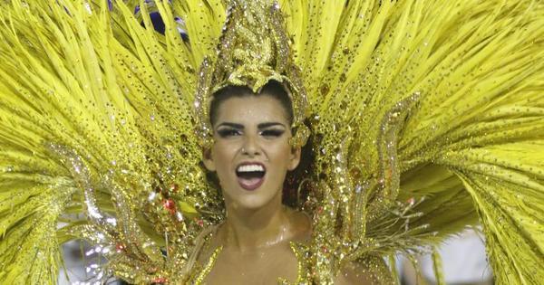 União da Ilha solta a voz em homenagem aos Jogos Olímpicos ...