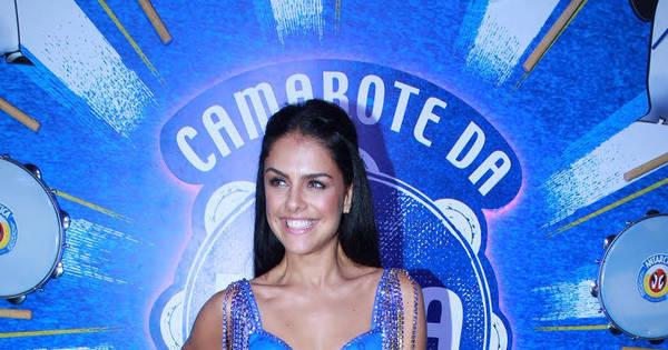 Paloma Bernardi avalia estreia como rainha de bateria da Grande ...