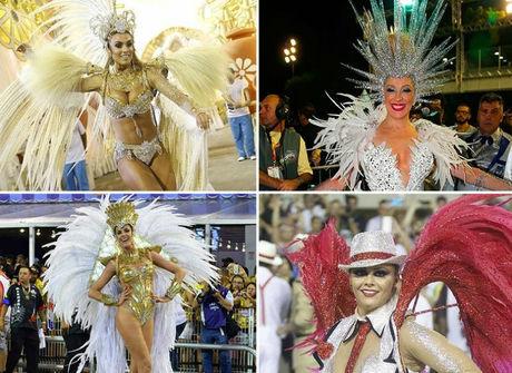 Veja todos os looks das famosas<br />do Carnaval 2016