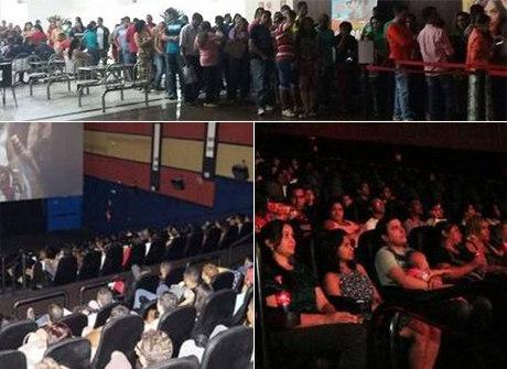 Fotos: salas de cinema continuam lotadas em todo o País no Carnaval