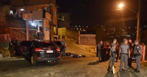 Cinco suspeitos são mortos por PMs em São Paulo nesta madrugada