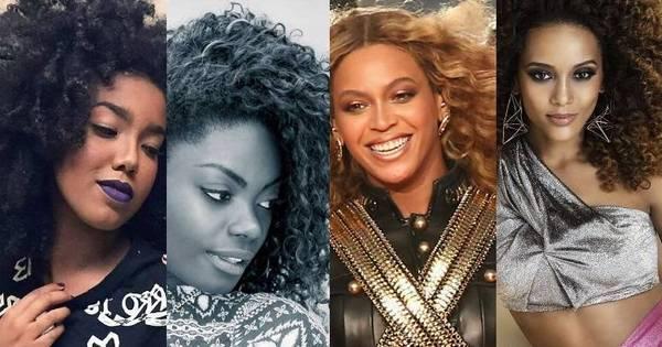 Beldades negras ostentam cabelões crespos de dar inveja