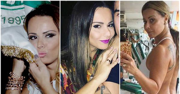 Após oito anos, Viviane Araújo apaga por completo tatuagem com o ...