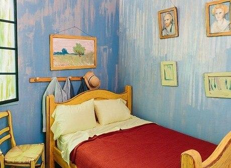 Quarto de Van Gogh pode ser alugado em site especializado