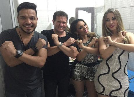 Ximbinha revela nova formação do XCalypso pela 1ª vez na televisão
