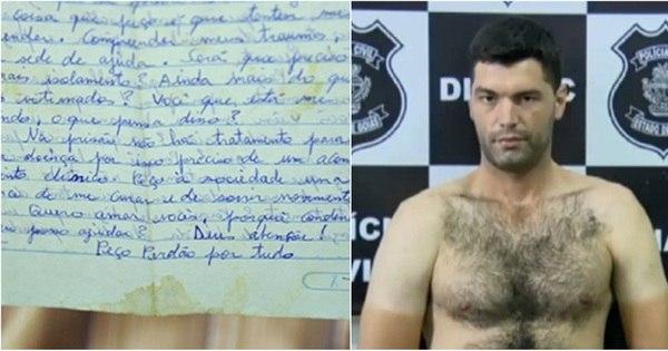 Serial killer de Goiás pede perdão em carta e diz que chorou pelas ...
