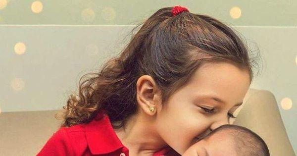 """Mariana Belém mostra o rosto da segunda filha, Julia: """"Coração ..."""