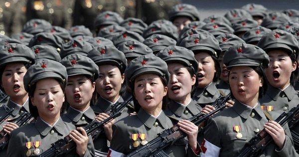 Coreia do Norte ameaça atacar Coreia do Sul e EUA com armas ...