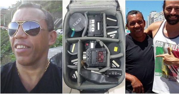Taxista devolve equipamento de filmagem de R$ 300 mil esquecido ...