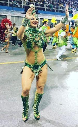 Viviane Araújo se defende depois fazer Mancha Verdejante perder pontos no Carnaval