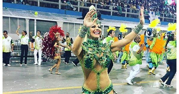 Viviane Araújo se defende após fazer Mancha Verde perder pontos ...
