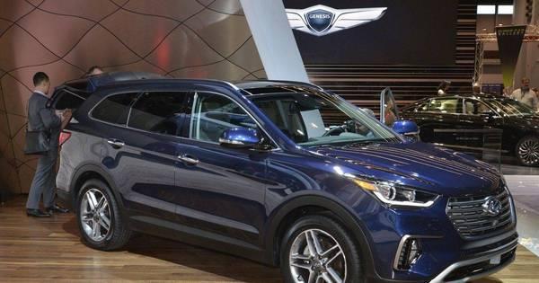 Hyundai mostra Santa Fe redesenhado em Chicago - Fotos - R7 ...