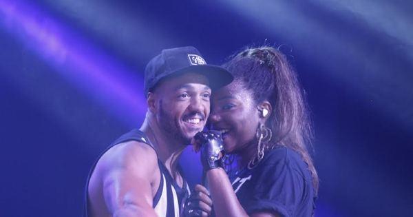 Belo e Ludmilla cantam de rostinho colado em show no Rio de ...