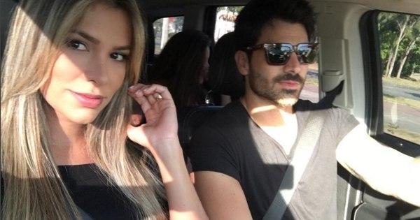 Adriana e Rodrigão fazem mistério com rosto de primeiro filho e até ...